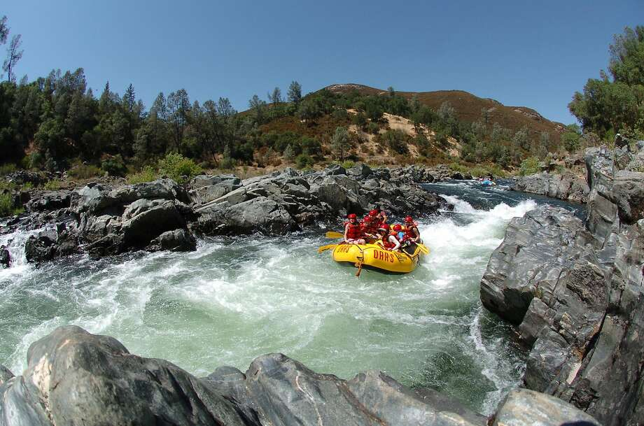 River rafting at the South Fork of the American River. Photo: Hotshot Imaging / Courtesy Of O.A.R.S.