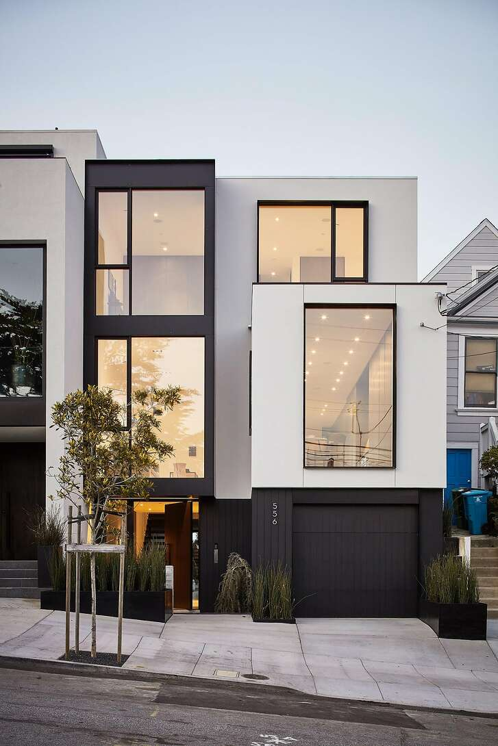 556 28th St. is a four-bedroom trilevel in Noe Valley.