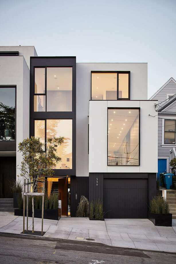 556 28th St. is a four-bedroom trilevel in Noe Valley. Photo: R. Brad Knipstein Photography