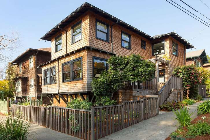 2758 Piedmont Ave. in Berkeley is a three-bedroom designed by Leola Hall and built in 1910.