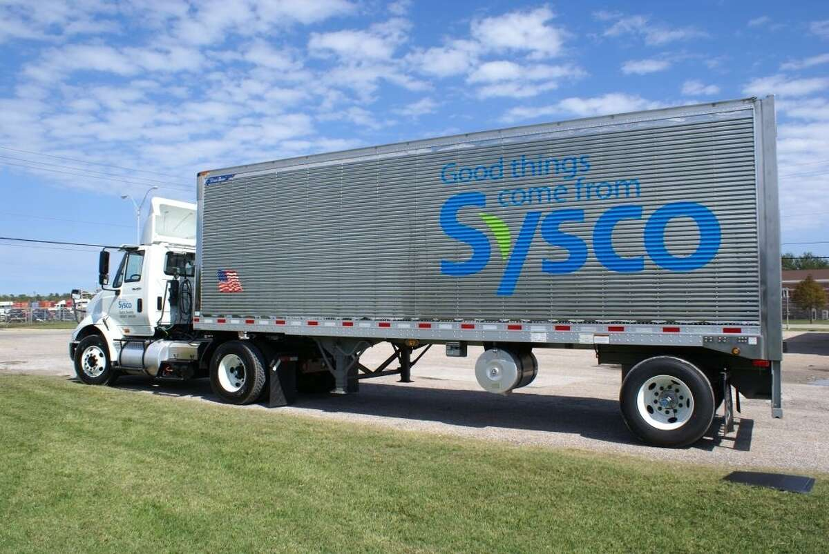 A Sysco delivery truck