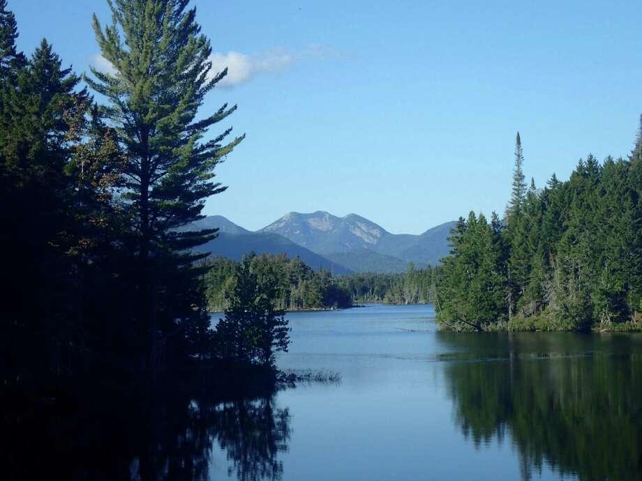 View of Gothics Peaks at Boreas Ponds in the Adirondacks. (Phil Brown/Adirondack Explorer)