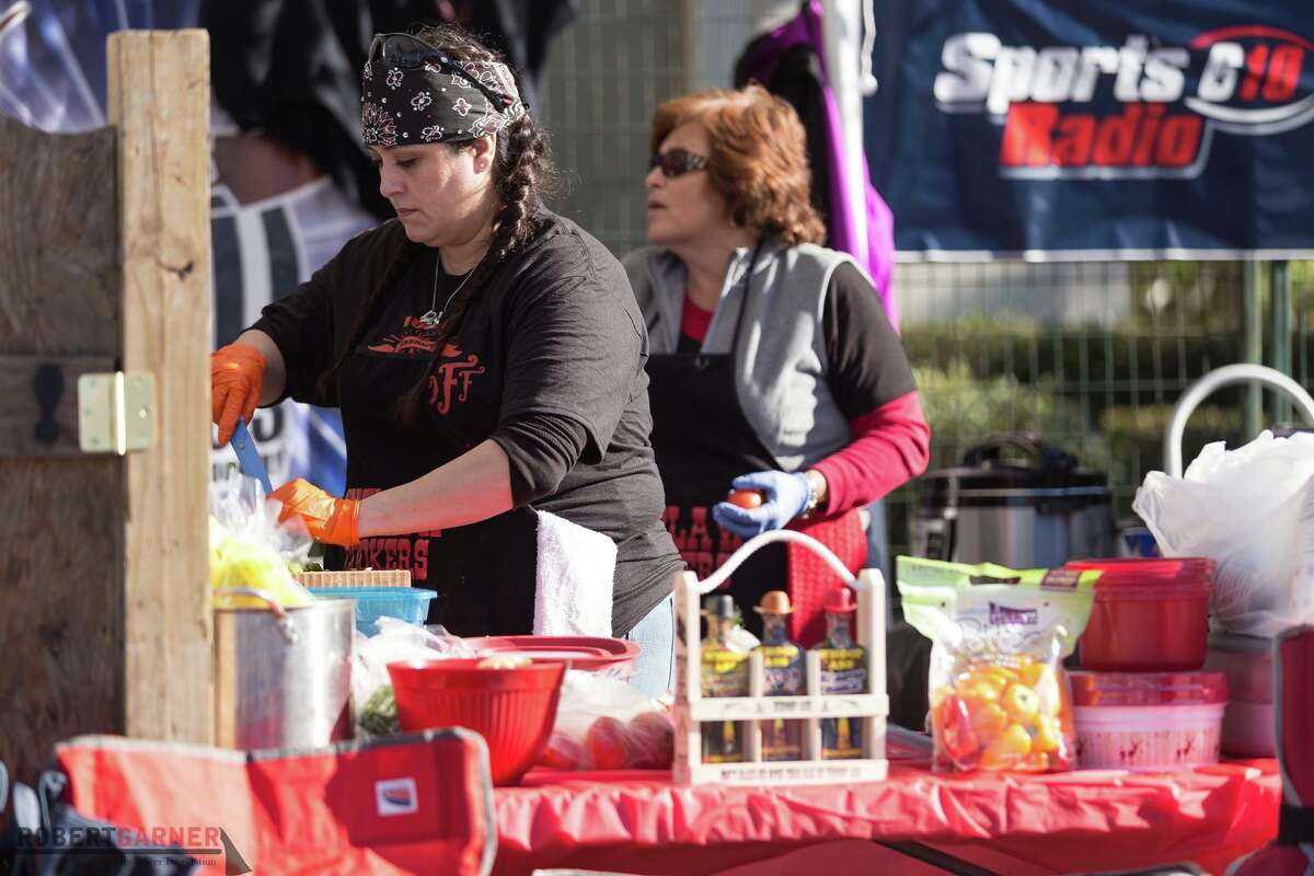 The 2018 Karbach Cookoff, sponsored by Karbach Brewing Company and the Robert Garner Firefighter Foundation, will be held Feb. 10 at 801 Saint Emanuel in EaDo. All proceeds will support the Houston Fire Department. Shown: Scenes from 2017 cookoff.
