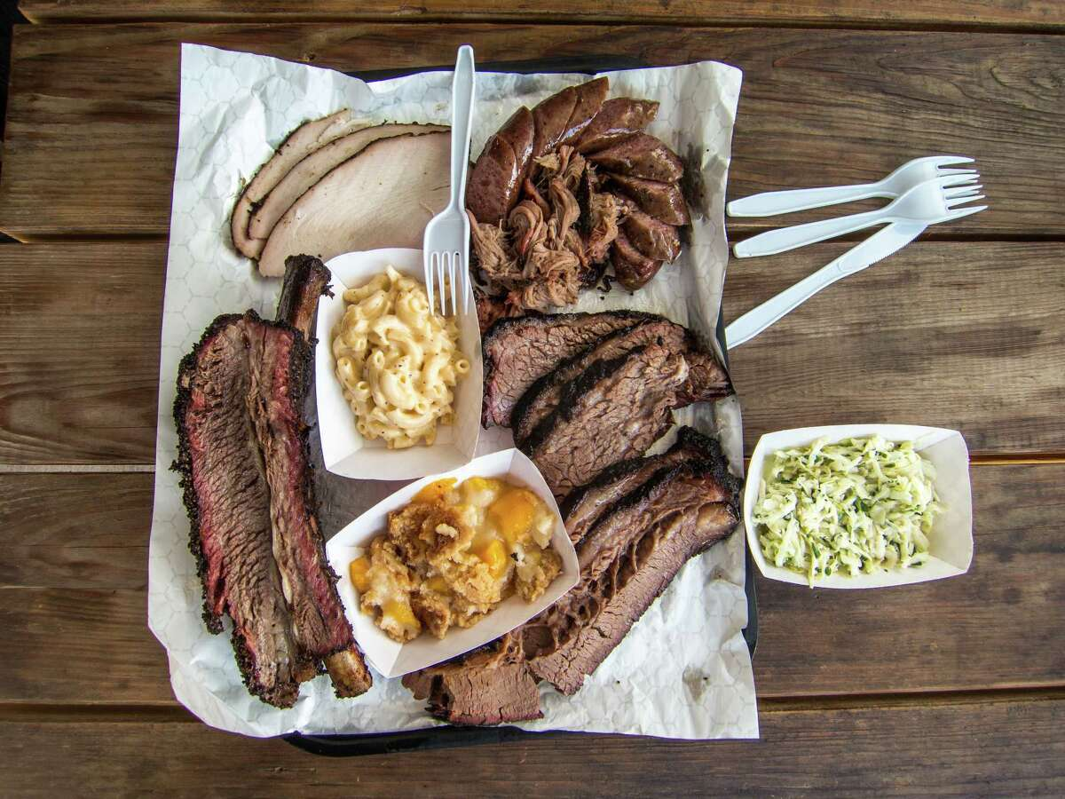 Will and Nichole Buckman take great care in how their barbecue is presented at CorkScrew BBQ in Spring.
