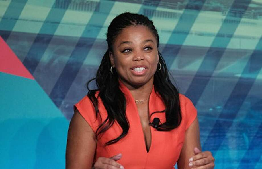 """Jemele Hill was mocked on Fox and Friends for being an """"unemployed"""" """"activist"""" who didn't deserve the Journalist of the Year award."""