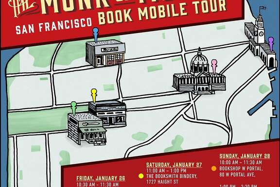 Dave Eggers and Mokhtar Alkhanshali will tour five bookstores.