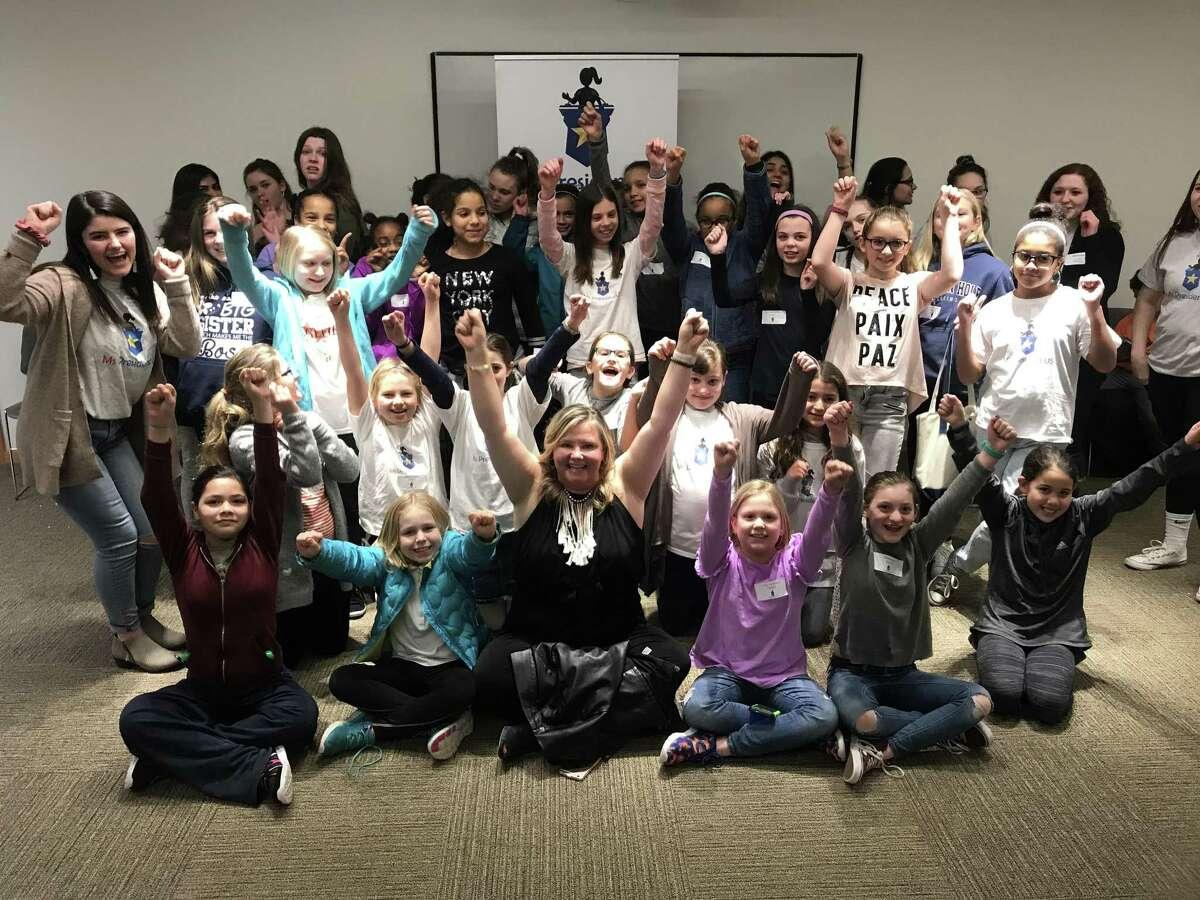Comedian, teacher and public speaker Christine O'Leary led nonprofit Ms President US's Jan. 19 session.