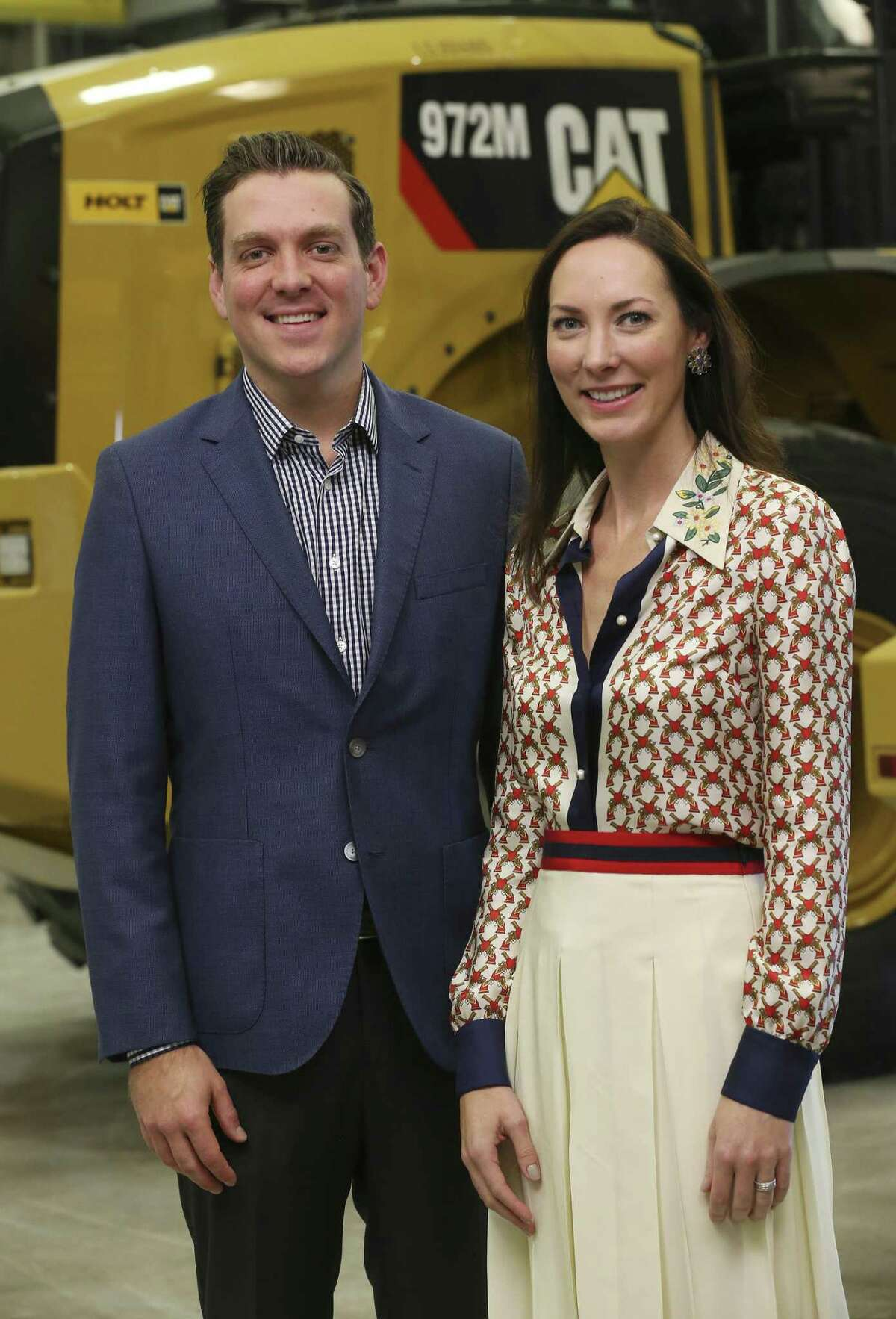 Holt Cat CEO and General Manager Peter J. Holt and his sister, President and Chief Administrative Officer Corinna Holt Richter said taking over the Holt Cat business has opened up doors in both the business and political community.