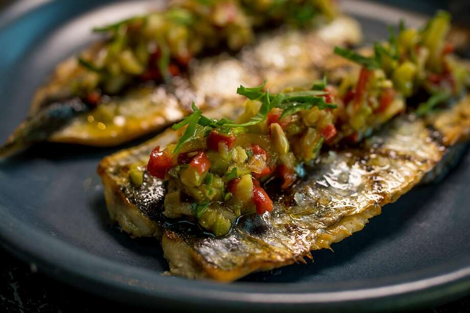 Grilled sardines at Barvale in San Francisco. Photo: John Storey, Special To The Chronicle