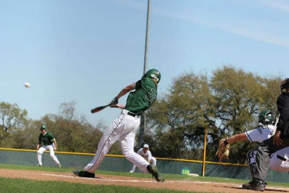Kingwood Park's Ryan Long swings for a ball Photo: Bruce Cox, Kingwood Park Baseball