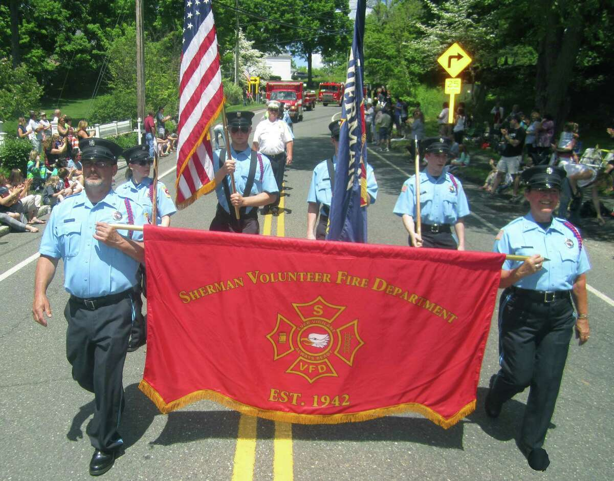 File photo of the Sherman Volunteer Fire Department