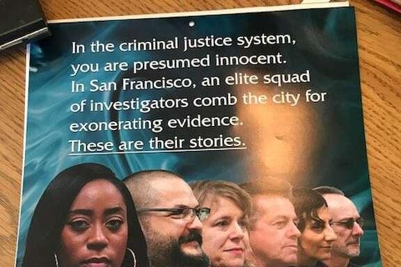 SF Public Defenders Go Hollywood 2018 calendar page