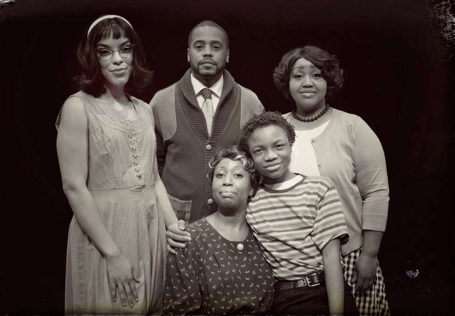 "Cast photo for ""A Raisin in the Sun,"" which runs at the Downtown Cabaret Theatre, Bridgeport, Feb. 2-18. Photo: Downtown Cabaret Theatre / Contributed Photo"