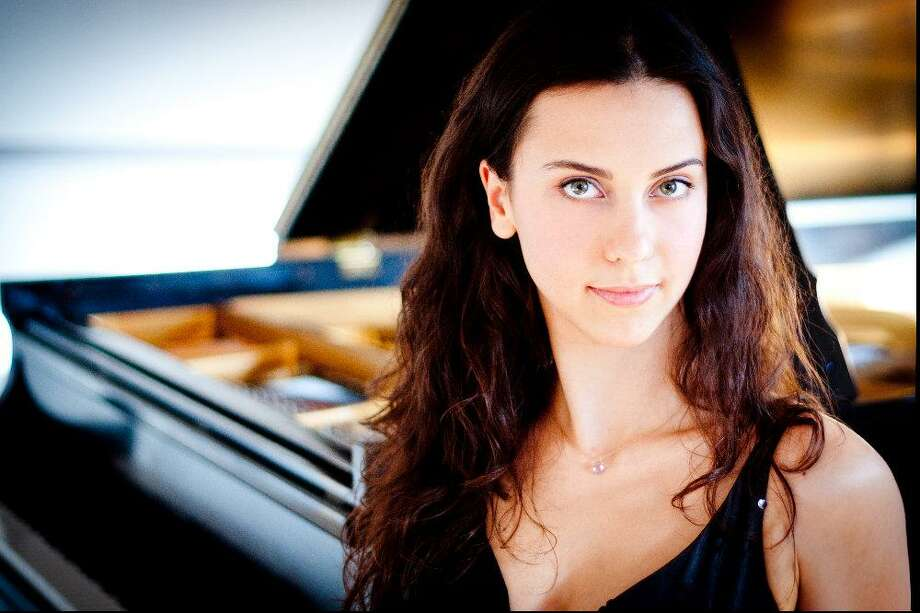 "Bulgarian pianist Anna Petrova will be featured at the ""Music Heals Us"" concert on Feb. 2 in Madison. Photo: Music Heals Us / Contributed Photo"