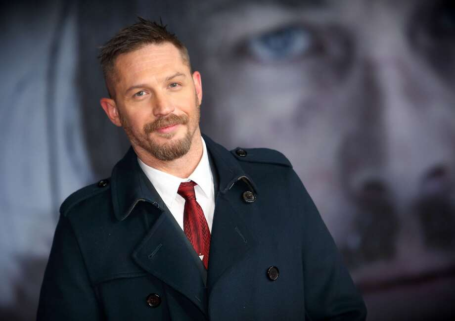 "Tom Hardy attends UK premiere of ""The Revenant"" at Empire Leicester Square on January 14, 2016, in London. Photo: (Photo By Mike Marsland/WireImage)"