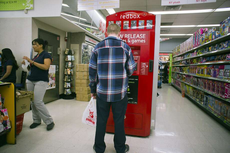 Redbox rental kiosks like this one have been around since 2002, but the company is pushing into streaming. Photo: Richard Levine, Corbis Via Getty Images