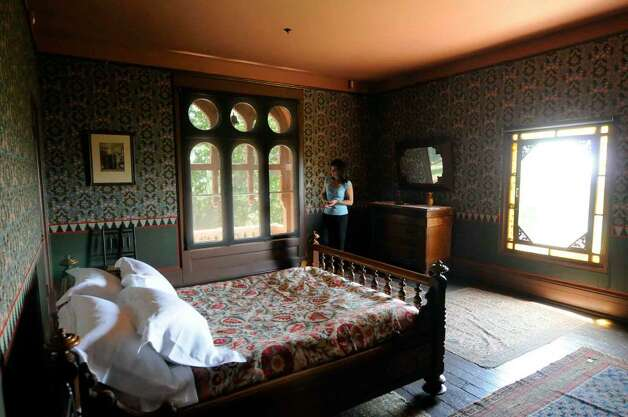 Frederic Edwin Church's master bedroom on the second floor of Olana in Hudson will be part of the public tour of the historic home. ( Michael P. Farrell / Times Union ) Photo: MICHAEL P. FARRELL