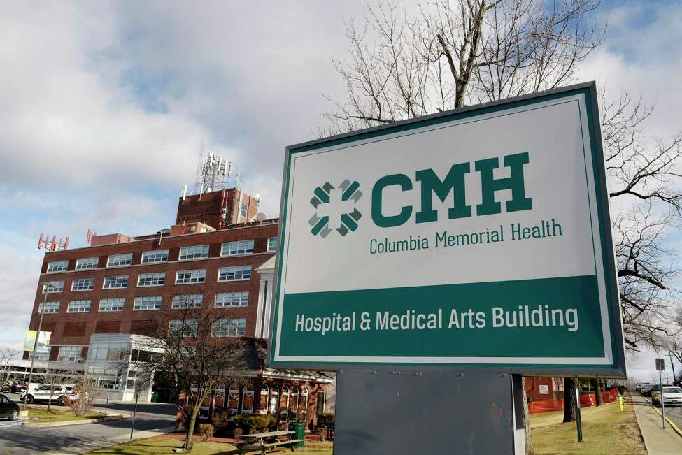 A view of Columbia Memorial Hospital on Wednesday, Jan. 24, 2018, in Hudson, N.Y. (Paul Buckowski/Times Union)