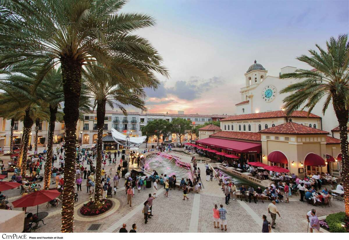CityPlace is an open-air shopping complex in Palm Beach. (Provided by Discover The Palm Beaches)