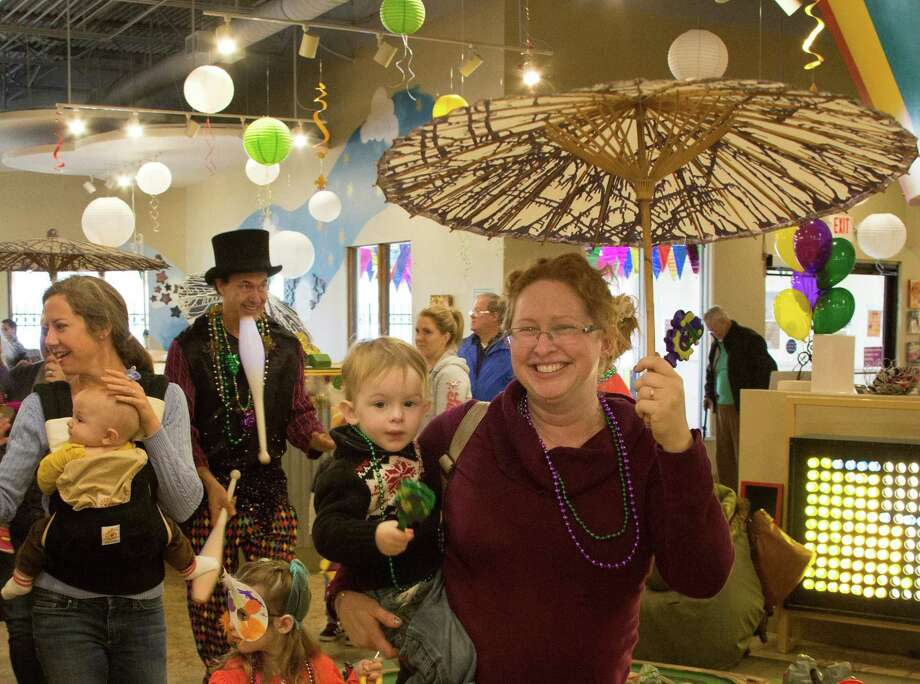 The Woodlands Children's Museum celebrates Mardi Gras on Tuesday, Feb. 13, 2018