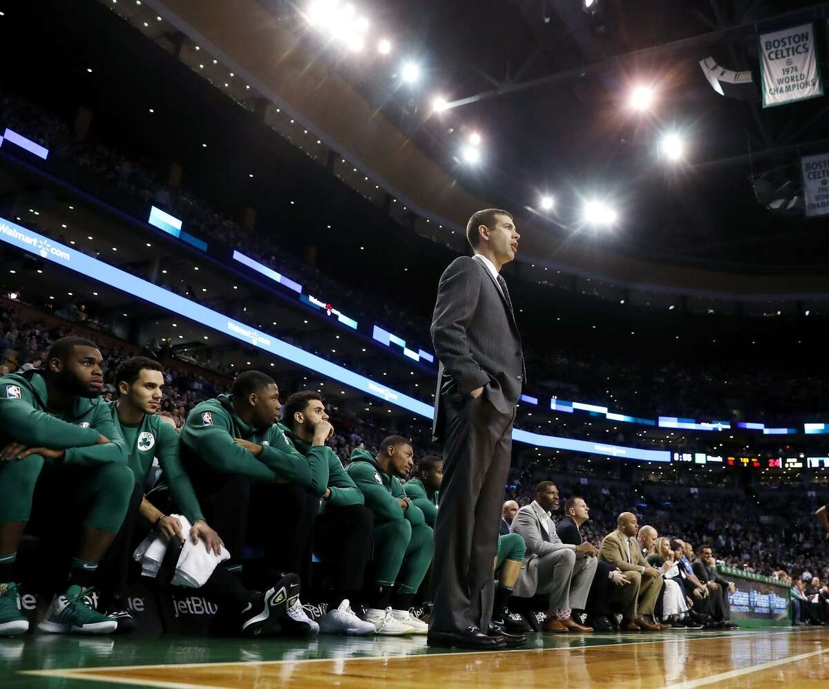 Brad Stevens has gone from coaching Butler University to the Boston Celtics, and is exceeding expectations.