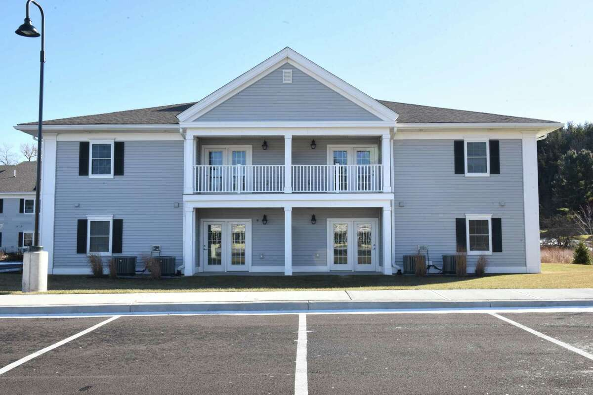 Exterior of buildings at Birches at Schoharie on Thursday, Jan. 25, 2018 in Schoharie, N.Y. Birches at Schoharie is a low income housing project which is still in limbo over tax credits. (Lori Van Buren/Times Union)