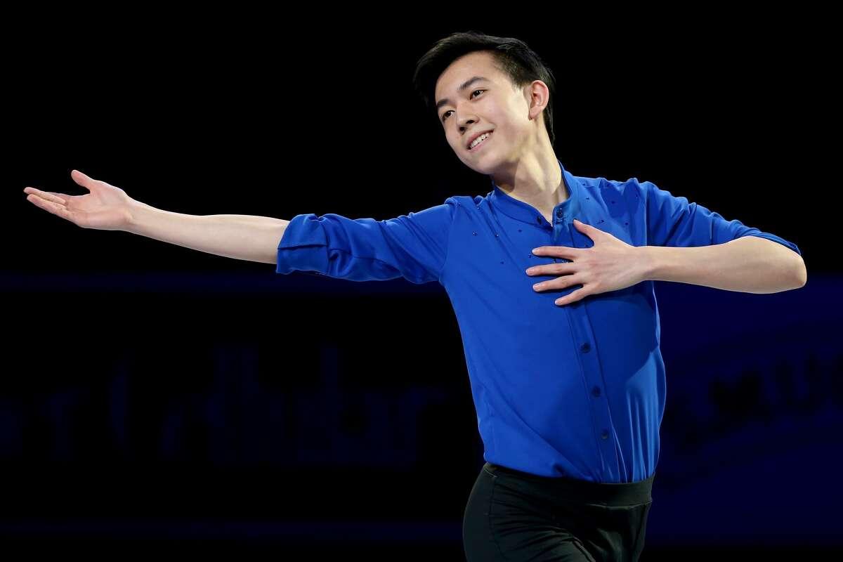 Vincent Zhou Palo Alto, Calif. Figure Skating