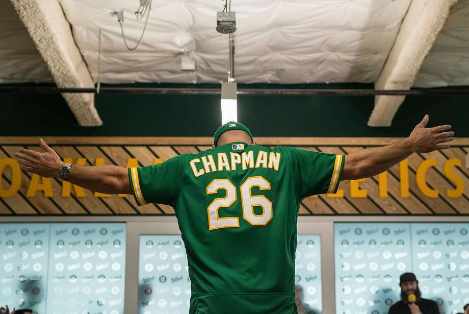 pretty nice b2f4b 7606c A's players model new kelly green alternate jerseys - SFGate