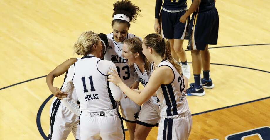 Rice cruised to a 56-42 victory over the University of Texas at El Paso in a contest of top Conference USA teams at Tudor Fieldhouse on Friday. Photo: Tim Warner/For The Chronicle