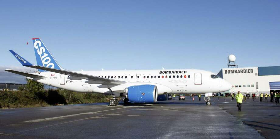 The Commerce Department ruled last year that Bombardier had unfairly received government subsidies and sold its C series planes at artificially low prices in the U.S. A U.S. trade panel disagreed. Photo: CLEMENT SABOURIN, Contributor / AFP or licensors