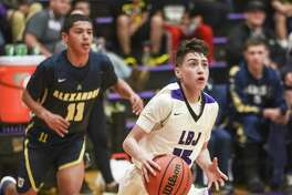 Chris Merino and LBJ host Alexander at 7:30 p.m. Tuesday. Merino scored a game-high 27 points off the bench last season to help the Wolves beat the Bulldogs 86-82 in overtime at home.