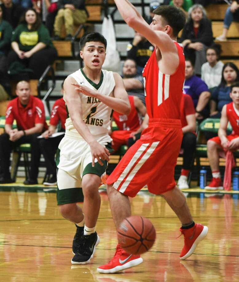 Mustangs sophomore L.J. Herrera was named a first-team All-District selection and an All-Academic honoree in District 31-5A. Photo: Danny Zaragoza /Laredo Morning Times