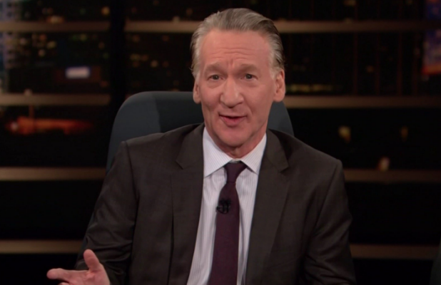 Bill Maher Shows Off Pro Trump Signs From The Women S March On Real