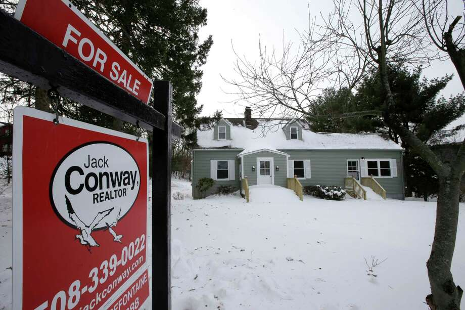 This home is for sale in Walpole, Mass. Just 1.48 million U.S. homes were listed for sale at the end of December, a 10.3 percent drop over the past year.  Photo: Steven Senne, STF / Copyright 2018 The Associated Press. All rights reserved.