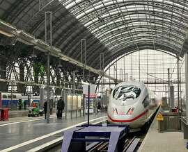 Frankfurt is a high speed rail hub