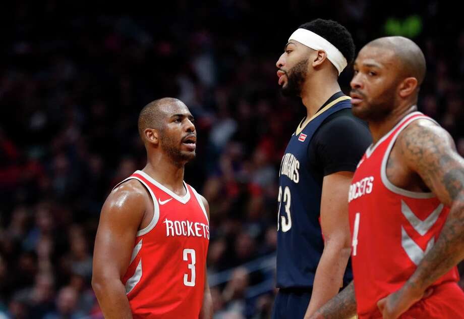 After a close game in New Orleans last weekend, the Rockets and Pelicans renew acquaintances Saturday at Toyota Center. Photo: Gerald Herbert, Associated Press / Copyright 2018 The Associated Press. All rights reserved.