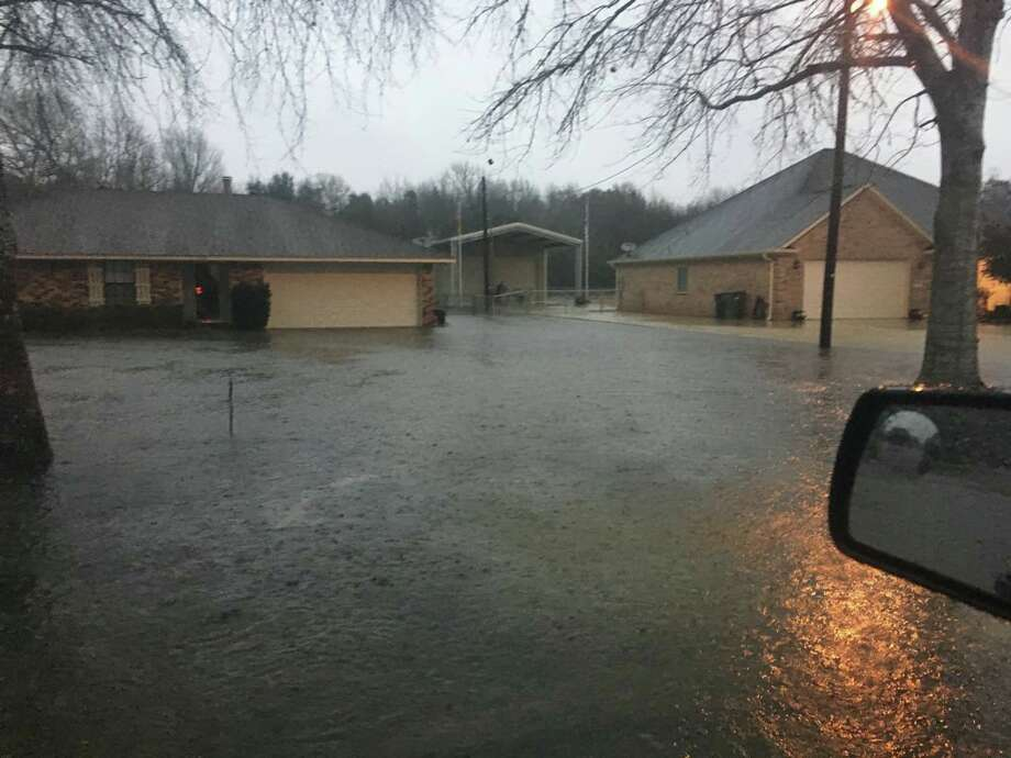 Flooding has been reported in the southwest parts of Jefferson County. Photo provided by Jefferson County Sheriff's Office