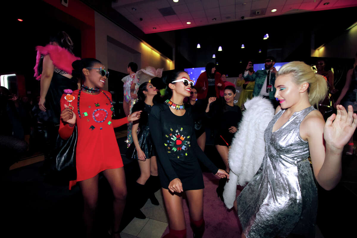 HOUSTON, TX - JAN 26: Creative collaborative Kaleidoscope Houston hosted the Houstonary 2018 arts event at The Health Museum on January 26, 2018. (Photo by Marco Torres/Houston Chronicle)