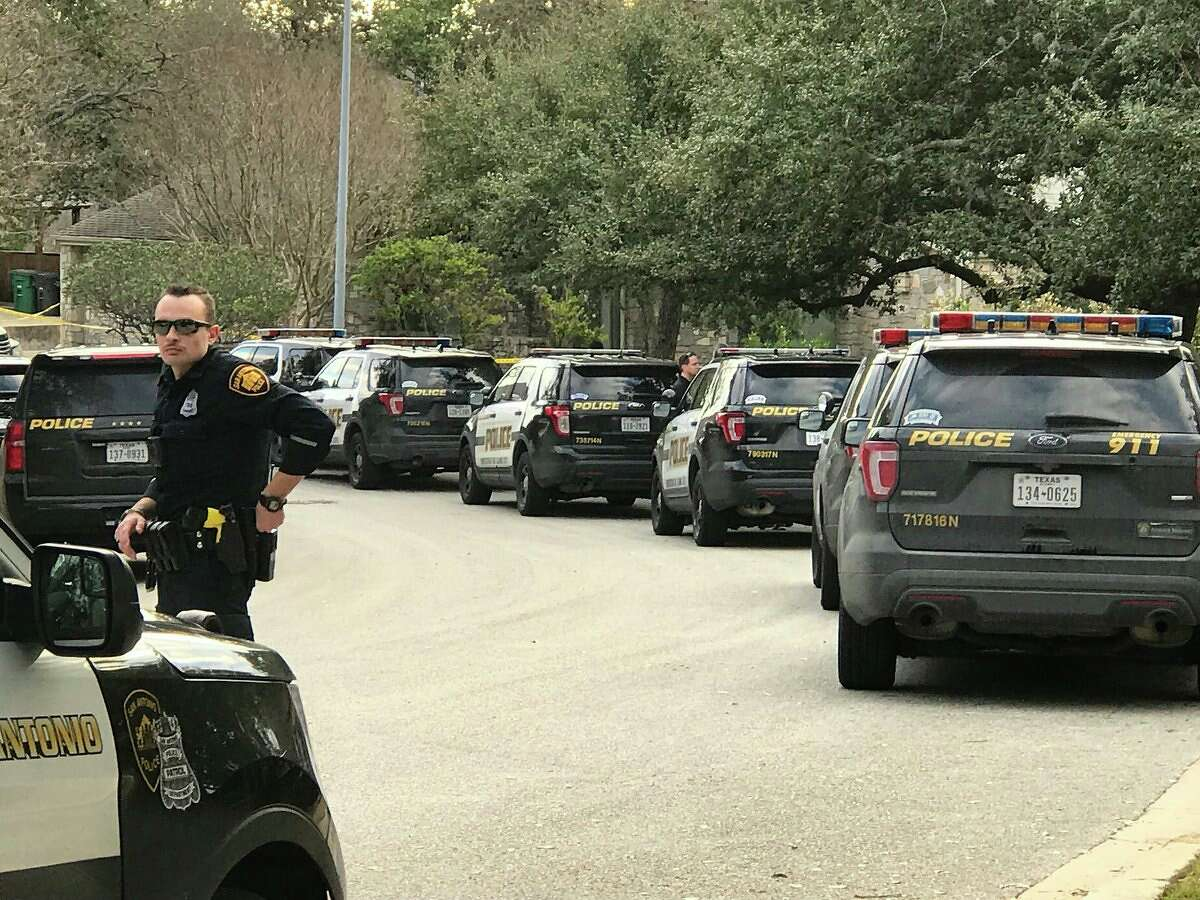 A San Antonio police officer was reportedly involved in a shooting Saturday afternoon, Jan. 27, 2018, on the North Side.