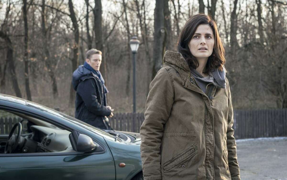 """Neil Jackson and Stana Katic star in """"Absentia,"""" a 10-episode series about the hunt for a serial killer that will be available for streaming Friday on Amazon."""