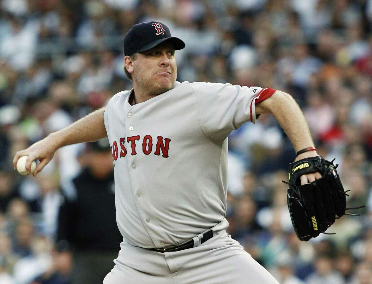 Register columnist Chip Malafronte wonders how Trevor Hoffman could be voted into the Hall of Fame before Curt Schilling, above, who is one of a handful of pitchers with 3,000 strikeouts.