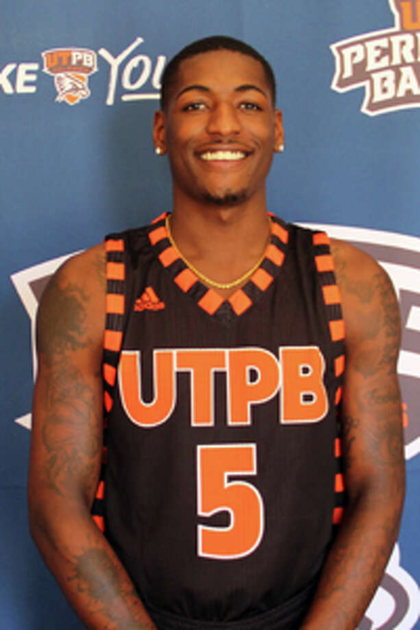 UTPB men's basketball player Daeshon Francis. Courtesy photo/UTPB Athletics.