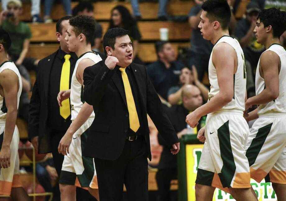 Nixon head coach Pete Solis has experienced a lot of good memories throughout his time with the Mustangs. Photo: Danny Zaragoza /Laredo Morning Times File