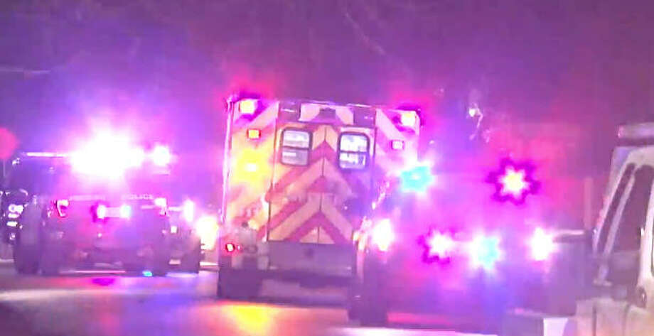A stolen vehicle sparked an overnight police chase. Photo: Metro Video