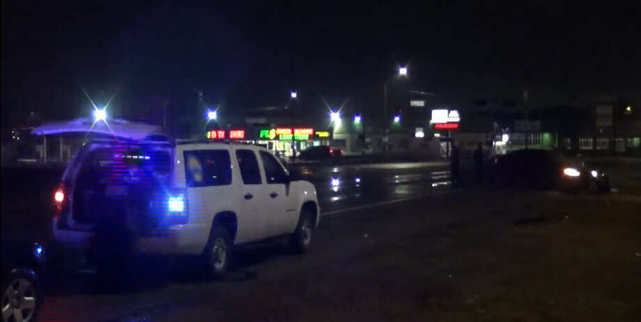 A man was found shot in his car early Sunday in the Northshore area. Photo: Metro Video