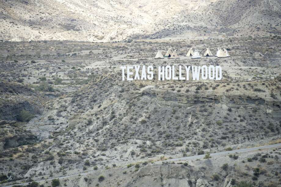 A general view of the film set at Fort Bravo/Texas Hollywood in Almeria, Spain. Fort Bravo Texas Hollywood, built in the 1960s in Almeria, Spain, is a western style set for films, which is also used for tourist tours. Originally used by film director Sergio Leone for 'A Fistful of Dollars', 'For a Few Price' and 'The Good, the Bad and the Ugly', which lead to the Spaghetti Western genre, today it is still used to shoot many different types of films. Photo: Juan Naharro Gimenez/Getty Images