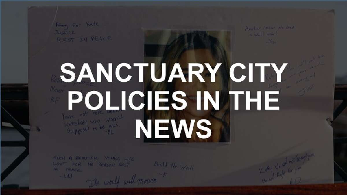 Click through the slideshow to see when sanctuary cities' policies have made it in the news.