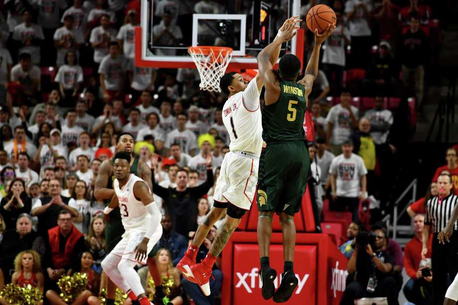 Maryland comes out swinging against No. 6 Michigan State but falls ...
