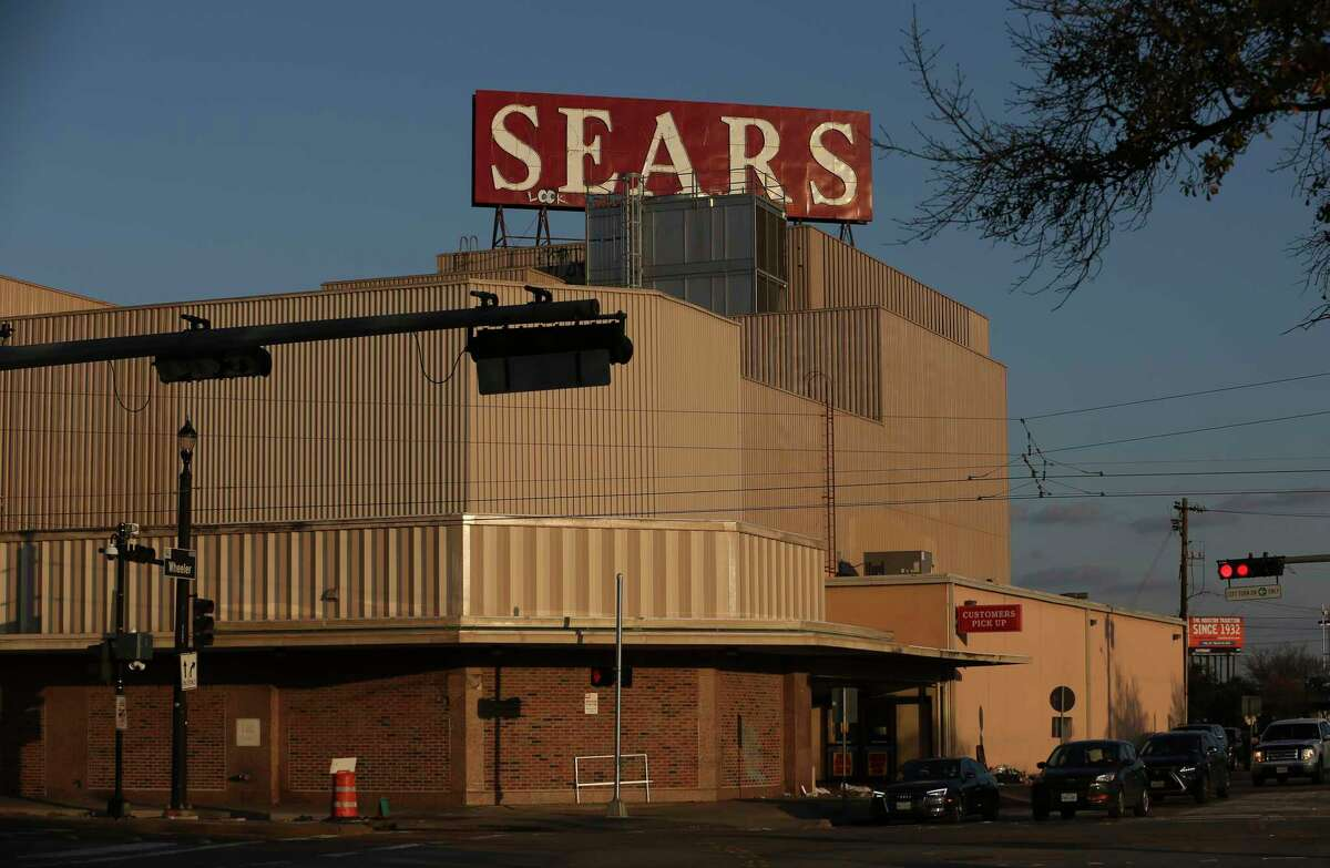Guests come to shop at the Sears Main Street location on its final open day on Sunday, Jan. 28, 2018, in Houston.