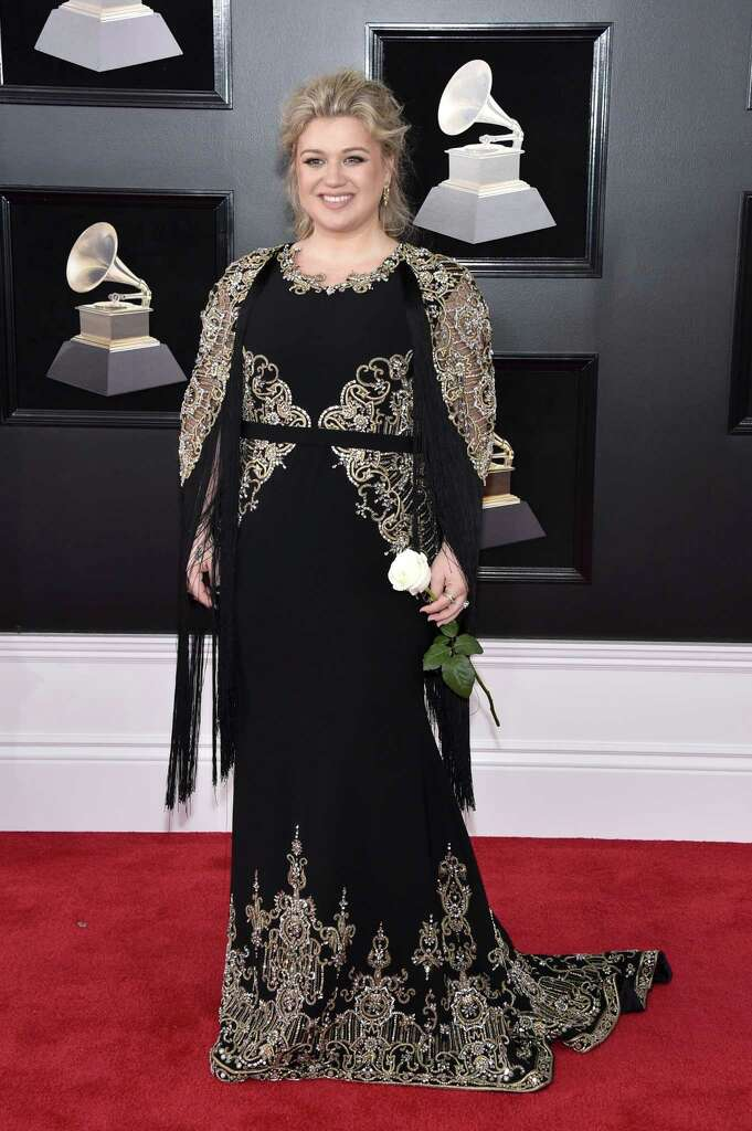 BEST: Kelly Clarkson in Christian Siriano. Can't go wrong with Christian.  Photo: John Shearer, Stringer / 2018 Getty Images